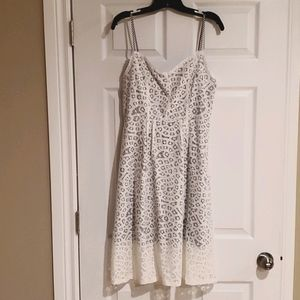 🌸🌸Gorgeous white lace dress